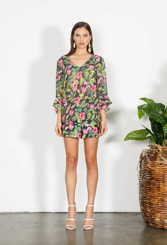 ELEMENT FLORAL BLOUSE