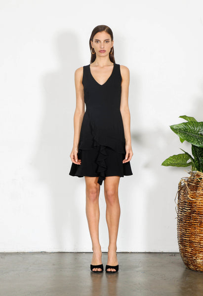 ELEMENT RUFFLE DRESS