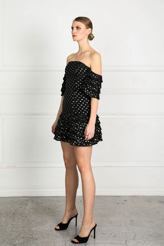 OBTAIN DOT DRESS
