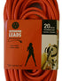 20 metre Orange Heavy Duty 240V Extension Lead Test & Tagged