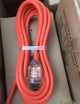 5 metre Orange Heavy Duty 240V Extension Lead 15amp lead, 15amp plugs with Neon