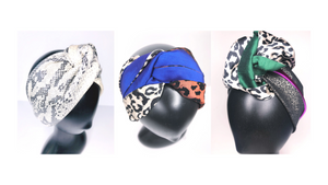 The Halo Collection turban headbands