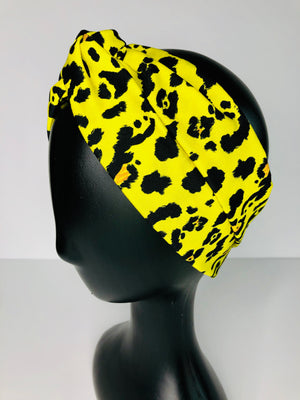 SunKissed Cheetah Turban Headband