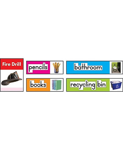 Photographic Classroom Labels