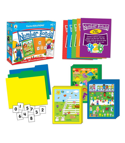 Number Bonds File Folder Game