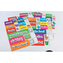 Classroom Labels: English