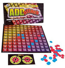 Add Attack Game: Addition, Subtraction, Patterns, Communication