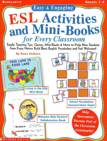 ESL Activities Mini Books