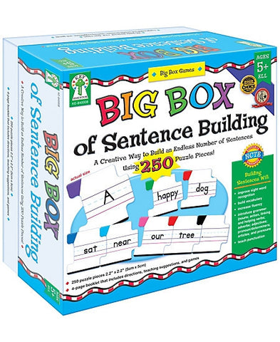 Big Box of Sentence Building - Manipulatives