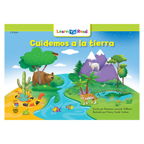 CUIDEMOS A LA TIERRA - LETS TAKE CARE OF THE EARTH
