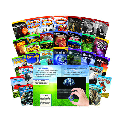 TIME FOR KIDS GR 2 30 BOOK SET SPANISH