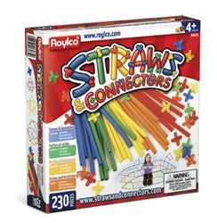 Straws and Connectors  - 230 pc set