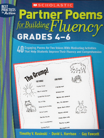 Partner Poems For Building Fluency: 40 Engaging Poems