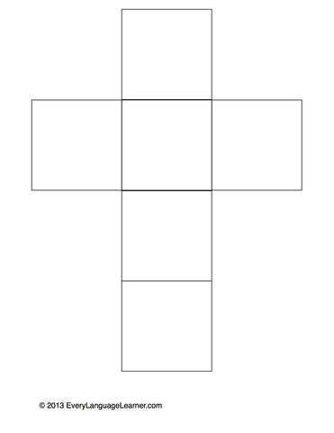 Question Cube (Blank) Downloadable FREE