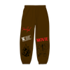 Movie Brown Sweatpants