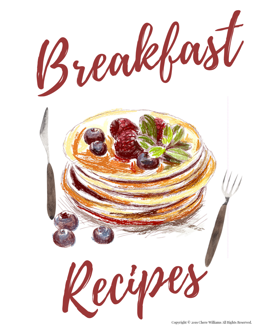 Breakfast Recipe Divider