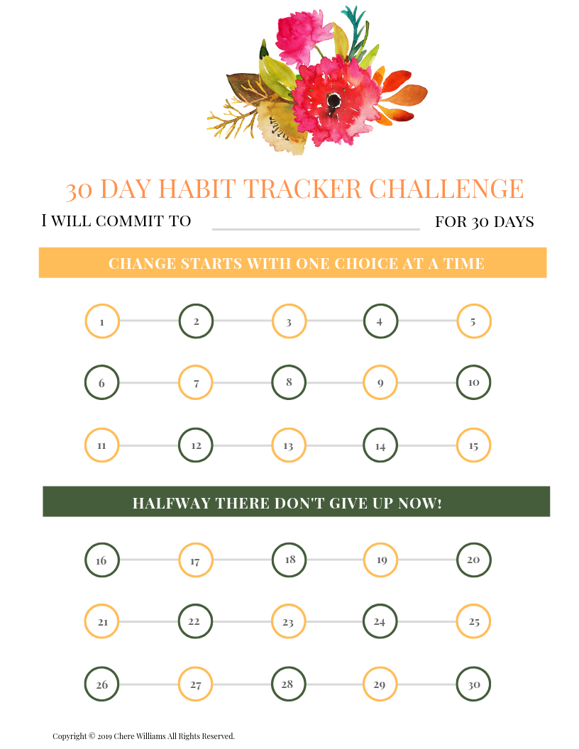 Change Your Habits in 30 Days with a Habit Tracker