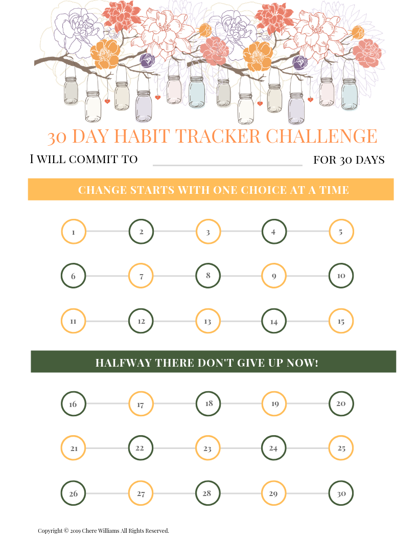Change Your Habits in 30 Days with This Habit Tracker