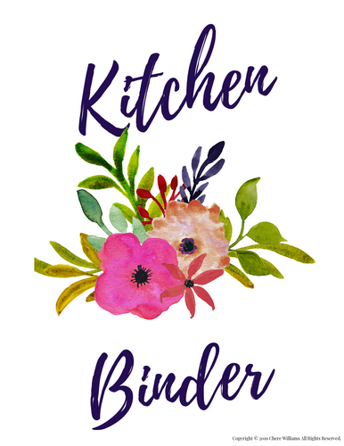 Kitchen Printables for Busy Moms and Homemakers