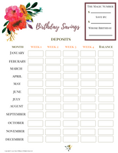 Load image into Gallery viewer, Complete Savings Binder Printable (Digital Download)