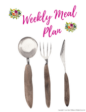 Load image into Gallery viewer, Weekly Meal Plan Printables for Busy Moms and Homemakers