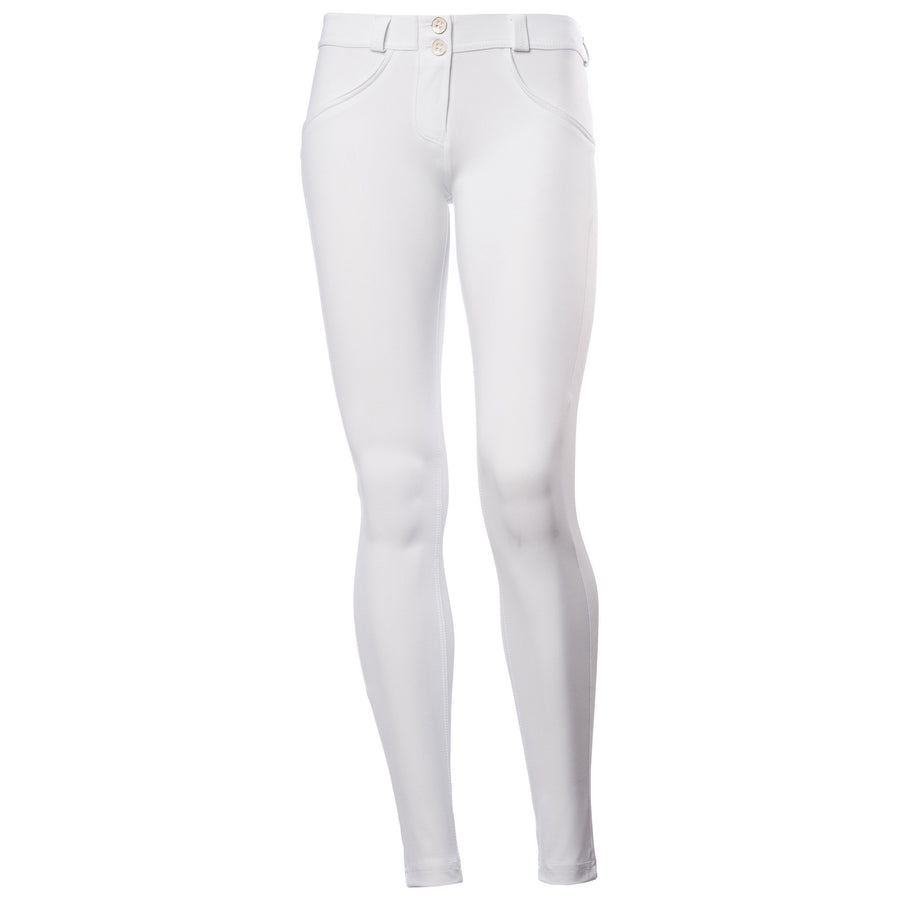 Freddy WR.UP® D.I.W.O.® PRO Fabric Regular Rise Skinny - White (COMING SOON)