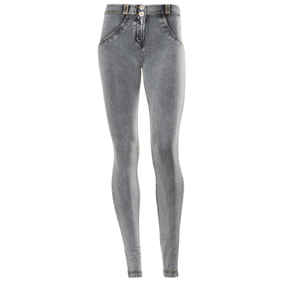 FREDDY WR.UP REGULAR RISE DENIM EFFECT SKINNY - Grey - LIVIFY  - 1