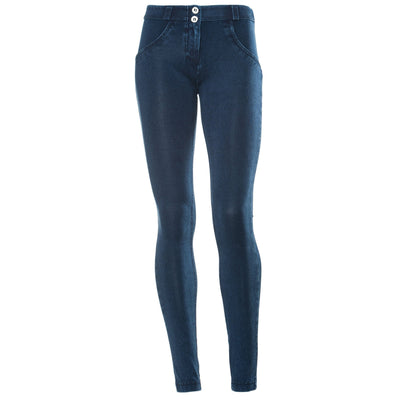 FREDDY WR.UP REGULAR RISE DENIM EFFECT SKINNY - Blue Tonal - LIVIFY  - 2