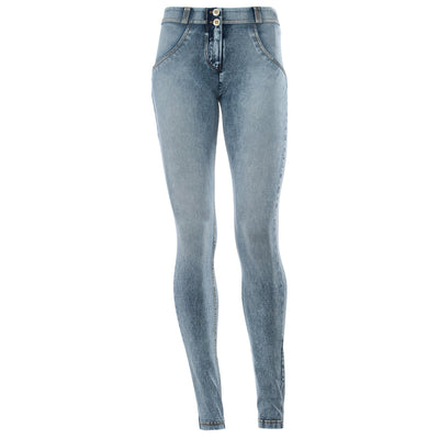 Freddy WR.UP® Stonewashed Denim Regular Rise Skinny - Blue (COMING SOON)