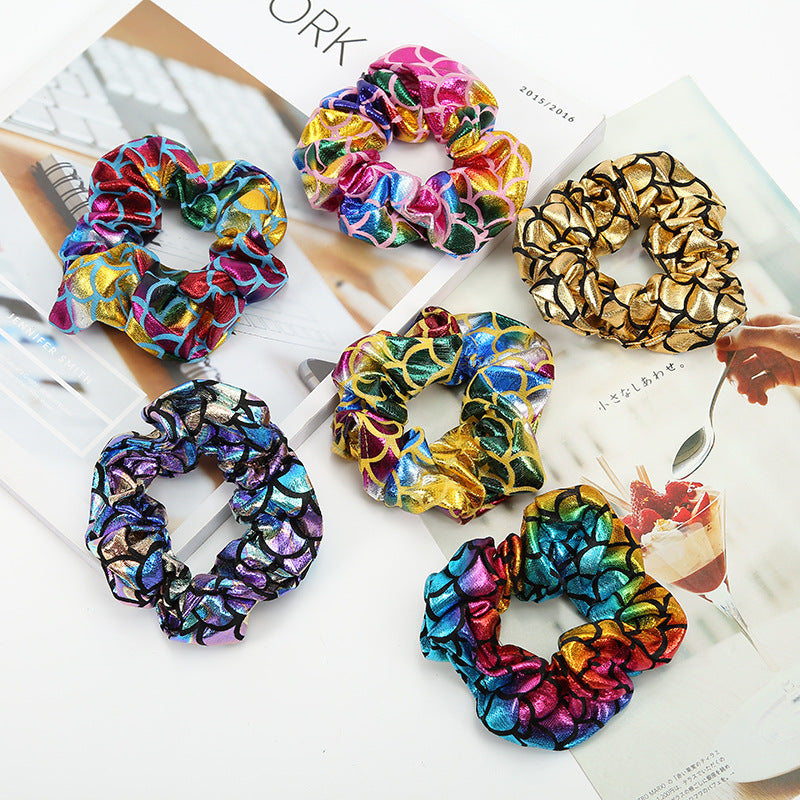 Mermaid Scrunchies Assorted Colors - BohoSparkle.com