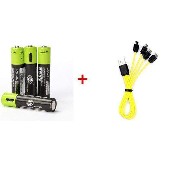 Tryot 1.5V / 4pcs with usb cable / Buy 1 GET 50% Off USB Batteries