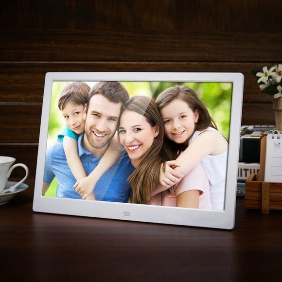 Tryot 12 Inch HD Digital Photo Frame with Backlight and Music/Video