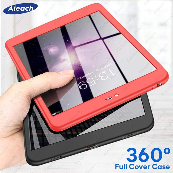 Tryot 360 Full Cover Case For mini 5 iPad mini 1 2 3 4 Case For iPad mini 5 2019 Cases with Tempered Glass Thin Soft Silicone Funda