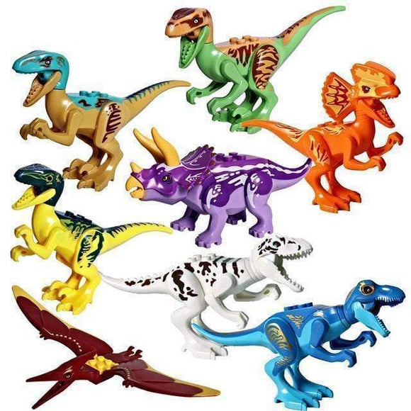 Tryot 8pcs - Style 1 / Buy 1 GET 50% Off Dinosaur Building Block Toys