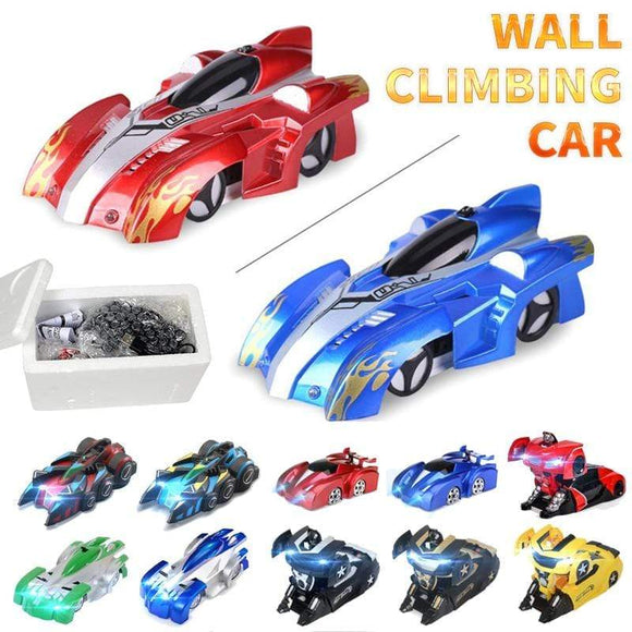 Tryot Anti Gravity Ceiling Climbing Car Electric 360 Rotating Stunt RC Car Antigravity Machine Auto Toy Cars with Remote Control