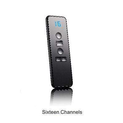 Tryot Black 16CH emitter / Buy 1 GET 50% Off Smart Curtain Remote Control