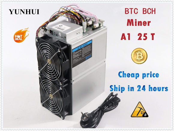 Tryot BTC BCH Miner Love Core A1 Miner Aixin A1 25T With PSU Economic Than Antminer S9 S11 S15 S17 T9+ T15 T17 WhatsMiner M3X