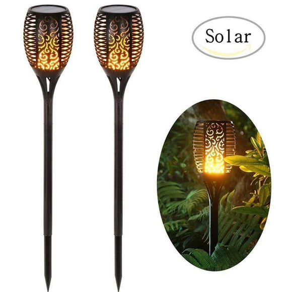 Tryot Christmas Solar Flame Light Torch