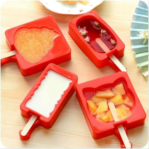 Tryot Cute Popsicle Molds