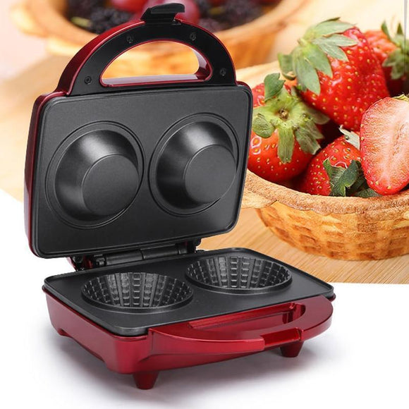 Tryot Electric Waffle Bowl Maker