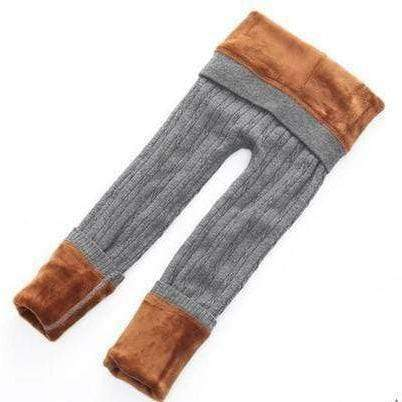 Tryot Gray / Two-T / Buy 1 GET 50% Off Children Warm Winter Leggings