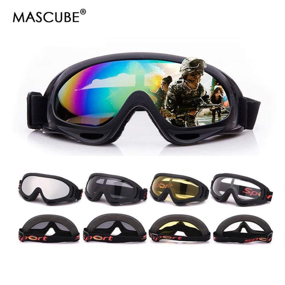 Tryot MASCUBE Skiing Eyewear Glass Goggles 5 Colors Snowboard Goggles Men Women Snow Glasses Ski Googles Skate Ski Sunglasses Eyewear