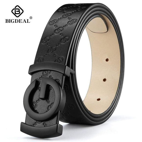 Tryot men belt cow genuine leather designer belts for men high quality fashion vintage male women strap for jeans cow skin