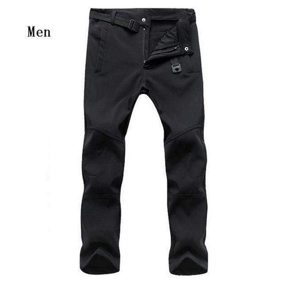Tryot Men Black / Asian size S Cold-Proof Unisex Winter Pants