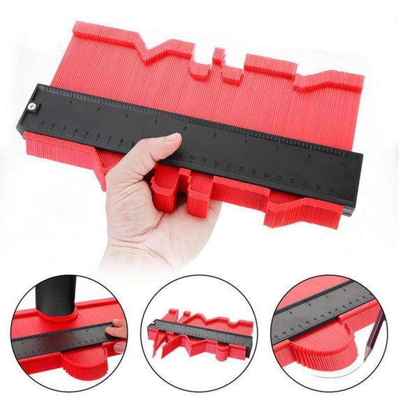 Tryot Onnfang Copy Gauge Contour Gauge Duplicator Contour Scale Template Wood Marking Tools Tiling Measuring Ruler Bulk price