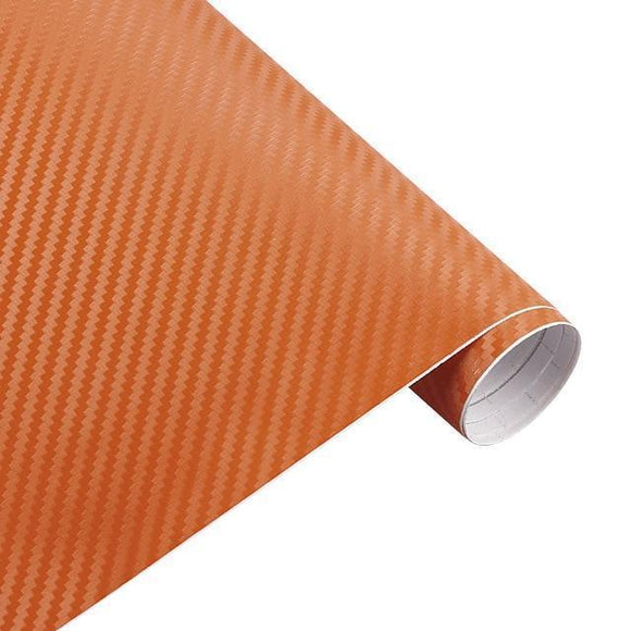 Tryot Orange / Buy 1 GET 50% Off Carbon Fiber Roll Car Sticker