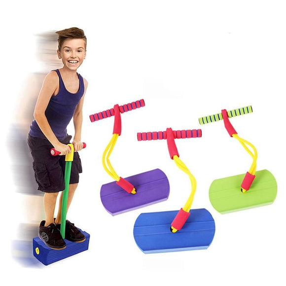 Tryot Pogo Stick Jumping Shoes Kangaroo Jumper Foam Stick Outside Outdoor Toys Sport Indoor Games For Kids Children Fitness Equipment