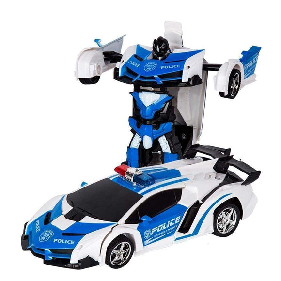 Tryot Polic car / Buy 1 GET 50% Off Transformation Robot Car