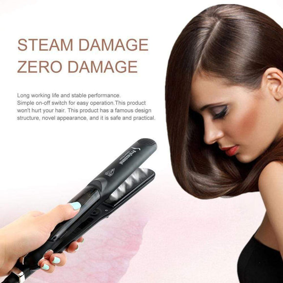 Tryot Professional Salon Steam Hair Straightener