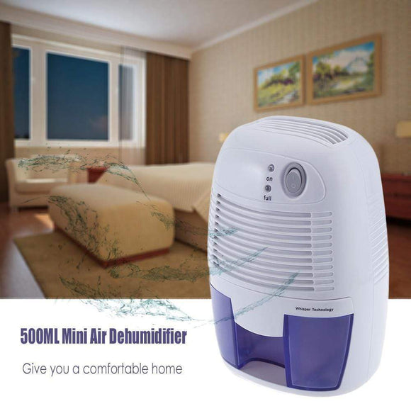 Tryot Smart 500ml Mini Air Dehumidifier